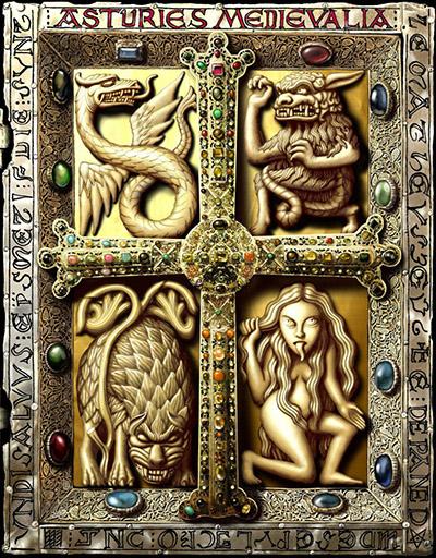 Asturies Medievalia suplemento Aquelarre
