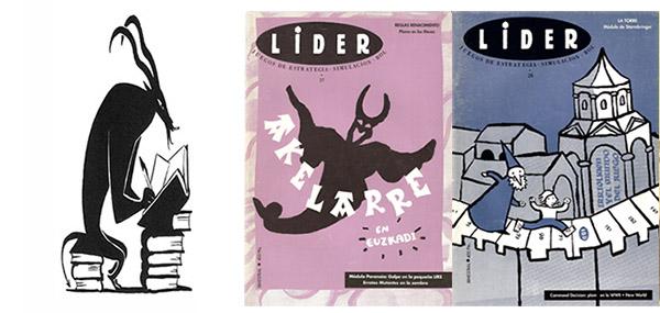 Revista lider y Aquelarre por Joc Internacional