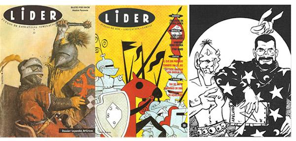 Los secretos del diablo seccion de la revista Lider para Aquelarre por Ricard Ibañez