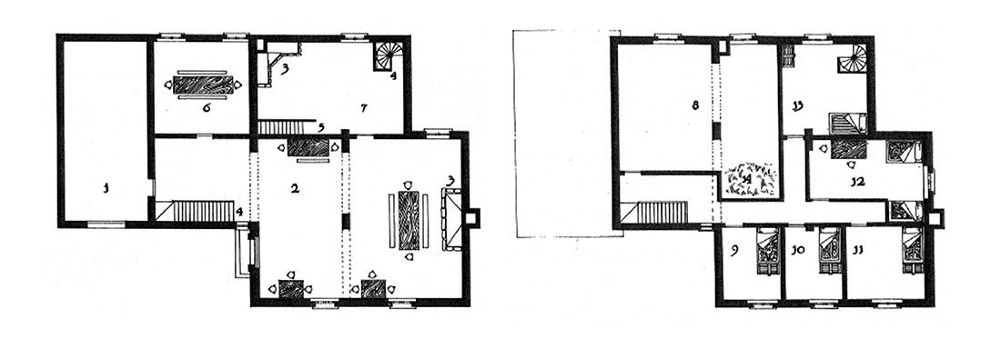 mapa de Aquelarre hostal de Alvar el honesto