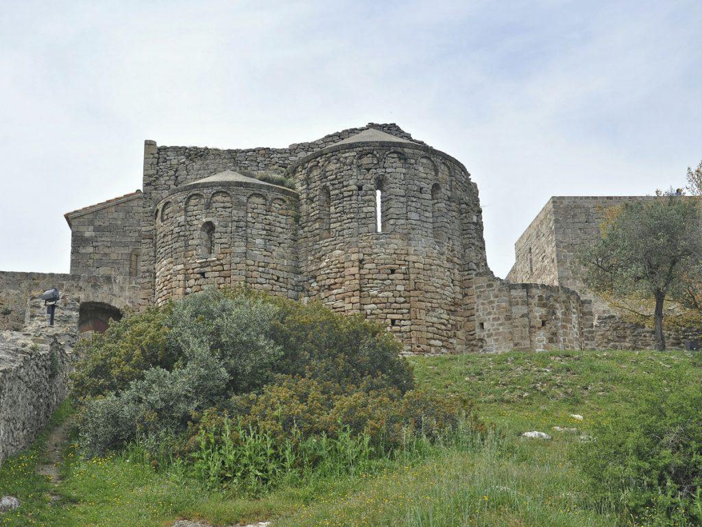església del castell de claramunt