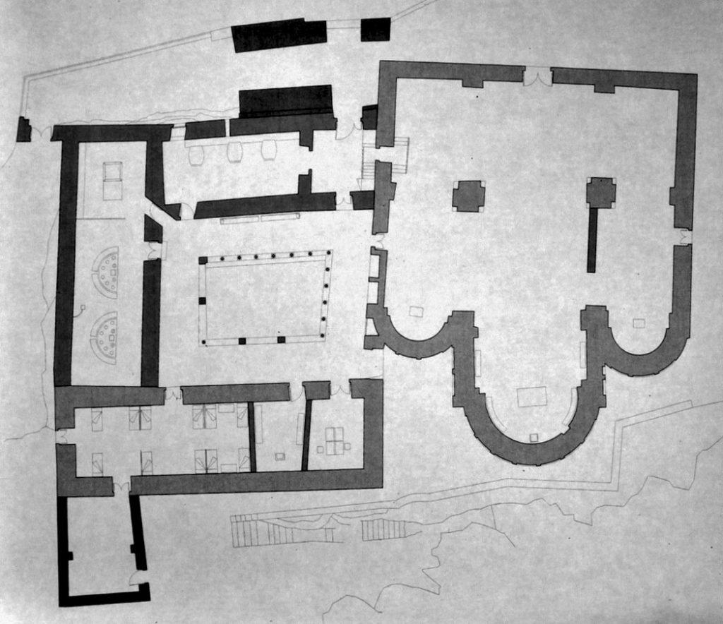 mapa Sant Pere de Casserres