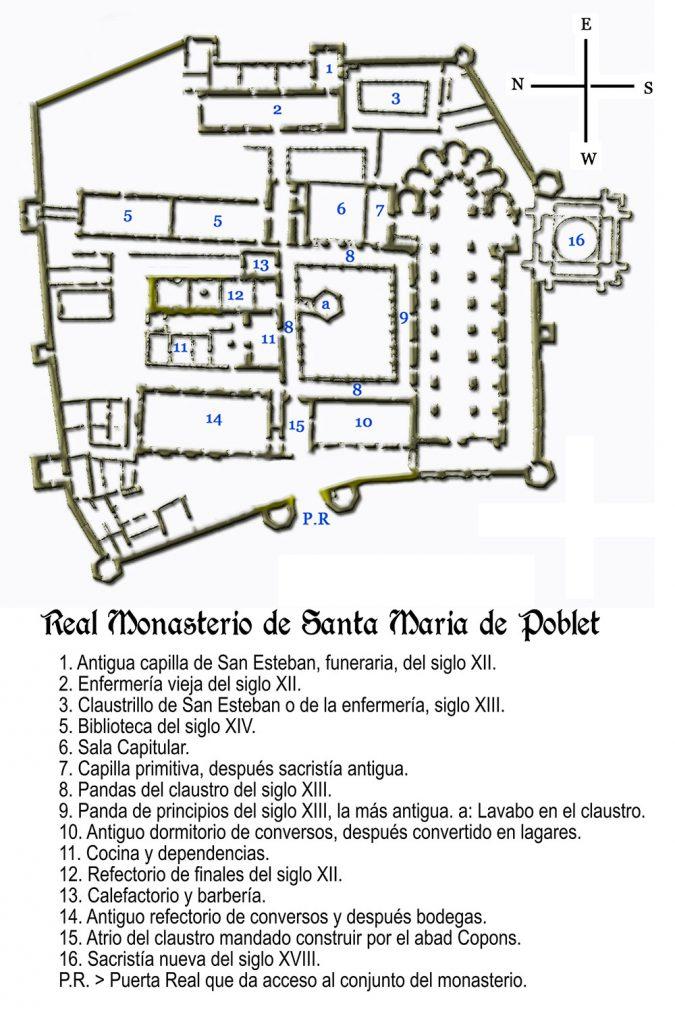 llegendes del monestir de poblet