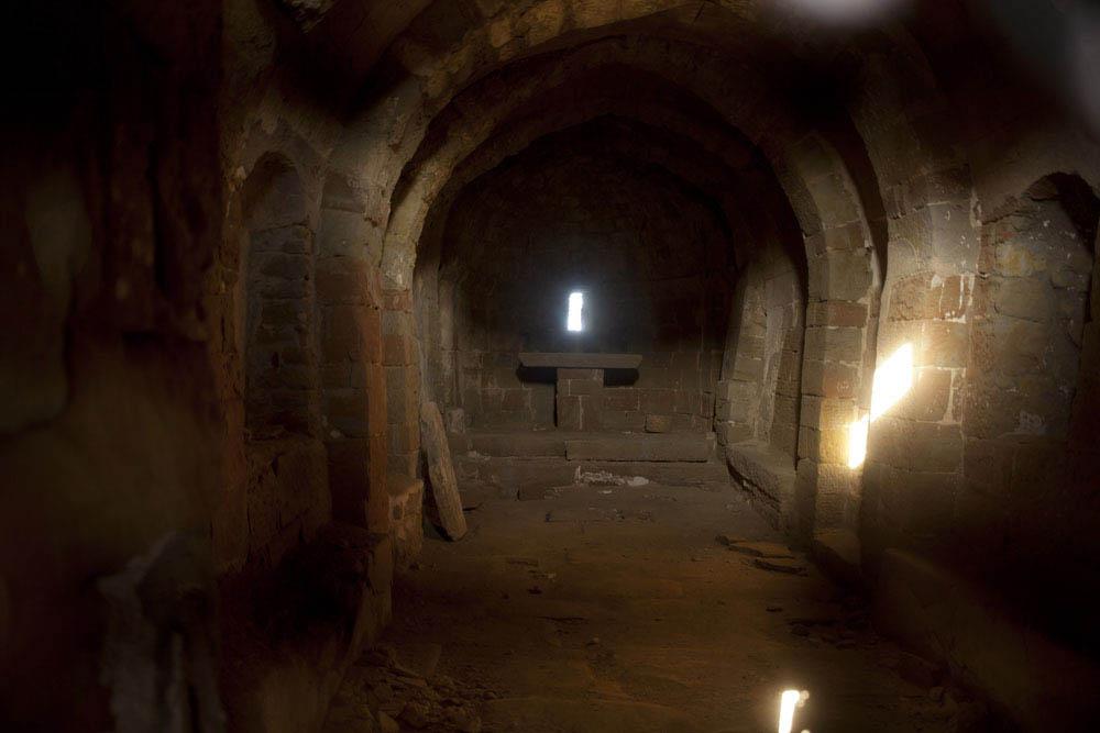 Sant Pere del castell de les Sitges es una iglesia románica
